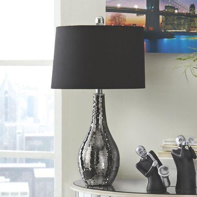 Mosaic Metallic Table Lamp