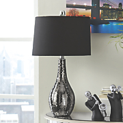 Mosaic Metallic Table Lamp