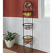 Mixed Fruit Basket Tower