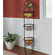 Mixed Fruit Basket Tower