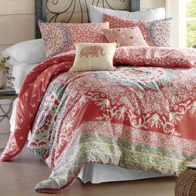Amrita Medallion Comforter Set and Pillows