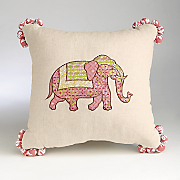elephant decorative pillow