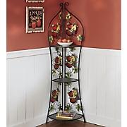 Mixed Fruit Corner Shelf