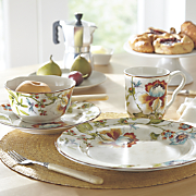 16 pc  bella vista dinnerware set