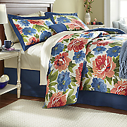 Bouquet Comforter Set, Window Treatments and Pillow