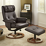 #1 Leisure Chair with Ottoman