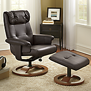1 leisure chair with ottoman