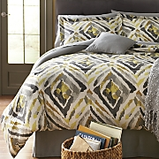 kenya comforter set  decorative pillow and window treatments