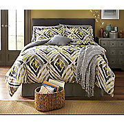 Kenya Comforter Set, Decorative Pillow and Window Treatments