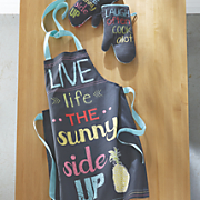Fun Apron and Oven Mitts