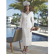 Snow Queen Tiered Skirt Suit