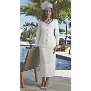 snow queen tiered skirt suit 32