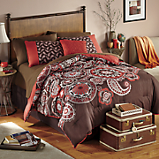 Odeon Comforter Set, Decorative Pillow and Window Treatments