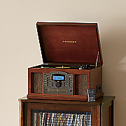 troubadour cd cassette turntable by crosley