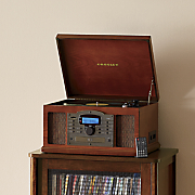 Troubadour CD/Cassette/Turntable by Crosley