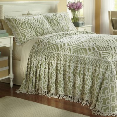 . Geneva Chenille Bedspread and Sham from Ginny s   J2732848