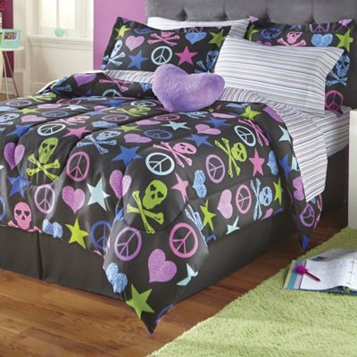 Treasure Hunt Complete Bed Set and Matching Accessories