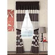 Dot Stripe Window Treatments