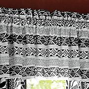 zebra chic valance