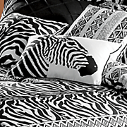 zebra chic zebra pillow