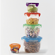 10 pc Assorted Click and Freash Storage Set