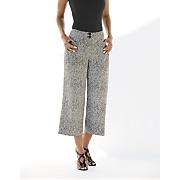 trendy tweed crop trouser