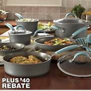 12-pc. Hard-Anodized Cucina Cookware Set by Rachel Ray