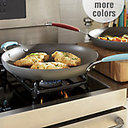 14in cucina skillet with helper handle by rachel ray