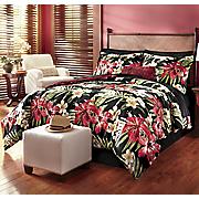 Lola Comfoter Set, Decorative Pillow and Window Treatments
