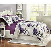 Dahlia Comforter Set, Decorative Pillow and Window Treatments