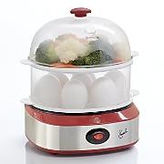 double decker egg cooker steamer by emeril