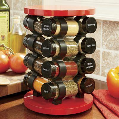 Spinning Spice Rack