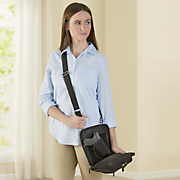 conceal carry shoulder pouch by gun tote n mamas