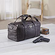 leather range bag by gun tote n mamas