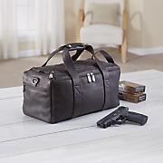 Leather Range Bag by Gun Tote'N Mamas