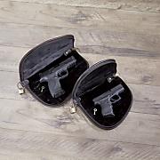cowhide gun case by gun tote n mamas