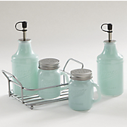 5-Pc Mason Jar Condiment Set