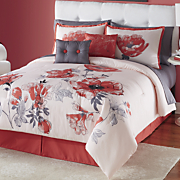 Color Connection Azalea 10-Piece Bed Set and Window Treatments by Montgomery Ward