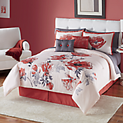 color connection azalea 10 pc  bed set and window treatments by montgomery ward