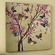 3 d butterfly cutout art