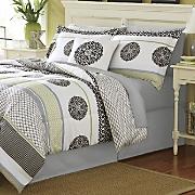 grenada comforter set  decorative pillow and window treatments