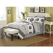Grenada Comforter Set, Decorative Pillow and Window Treatments