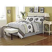 Grenada Comforter Set, Decorative Pillow and Window Treatments