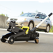 2 ton trolley floor jack by black bull
