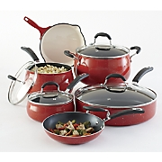 10-Piece Aluminum Speckled Cookware Set by The Pioneer Woman