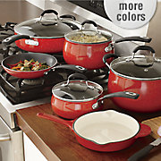 10 pc  aluminum speckled cookware set by the pioneer woman