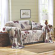 nature s curio furniture throw and decorative pillow