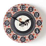 rooster clock 22