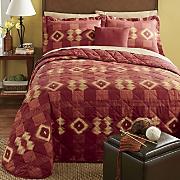 carmel bedspread sham set  decorative pillow and window treatments