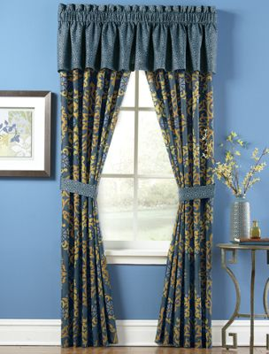 Fairhaven Panel Pair and Valance